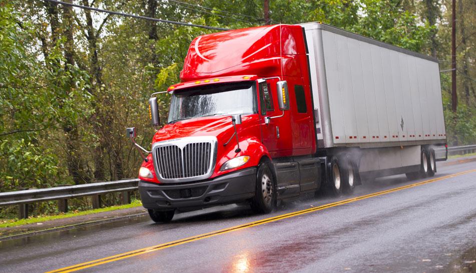 Camion-remorque